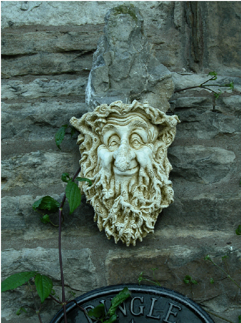 Wonderful 'Green Man', outside Dingle Cottage.png