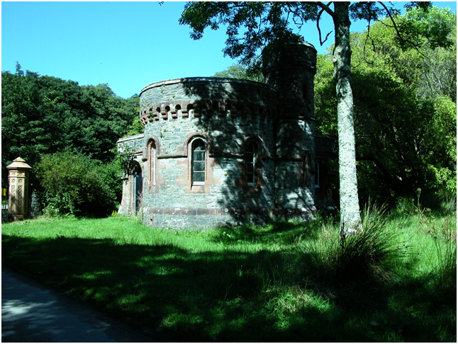 Gatehouse Lodge, Skipness Castle.png