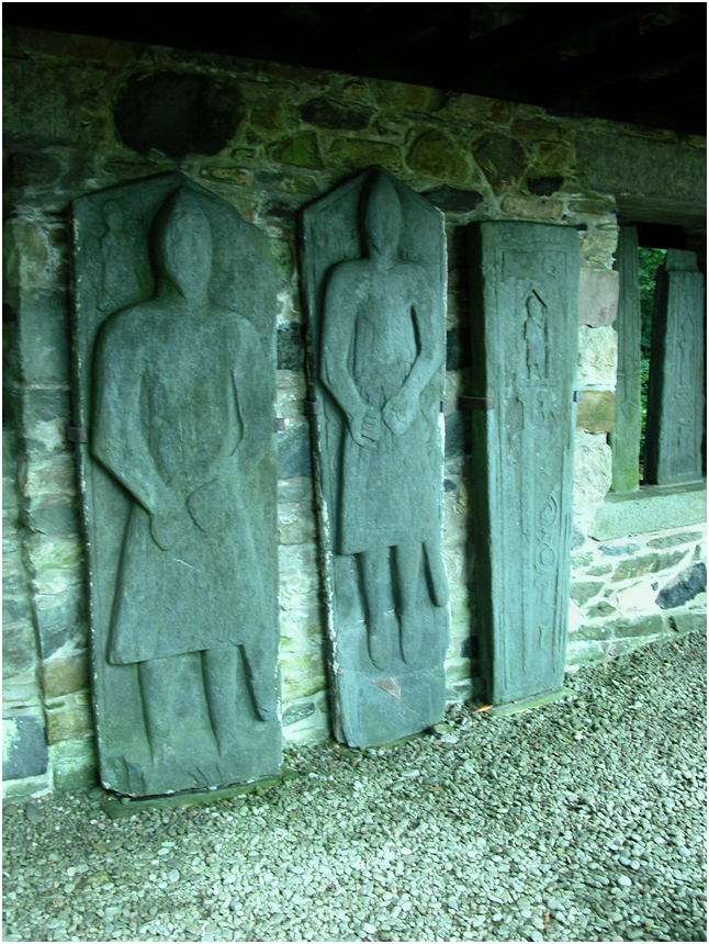 Medieval grave slabs, Kilberry.png