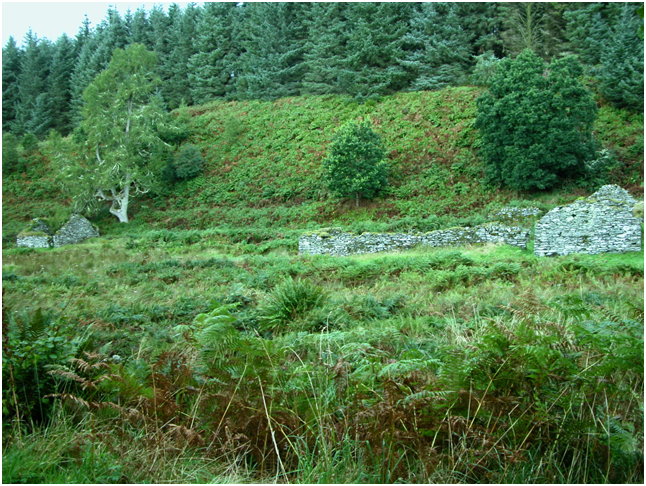 Part of the long-abandoned township, Kilmory Oib.png