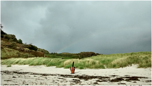 Rainbow over Calgary Bay, Mull.png